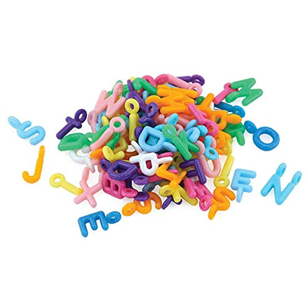 Hygloss Products 68060 ABC Beads & Charms 60 Charms