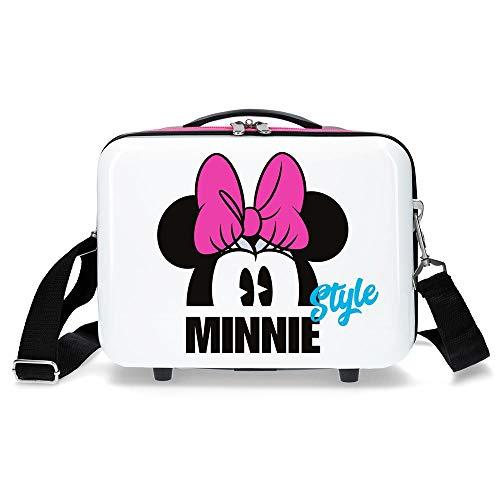 Disney Style Beauty Case da viaggio 29 centimeters 9.14 Bianco (Blanco)