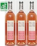 Bergerac Château le Payral rosé sec BIO 2017 AOC, 3 bouteilles de 75cl.