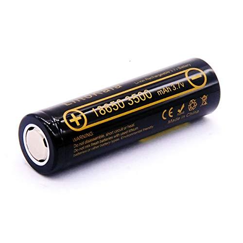 18650 Battery 1 piece X LiitoKala Lii-35A 3.7V 3500mAh 10A Discharging Rechargeable Flat top Battery...