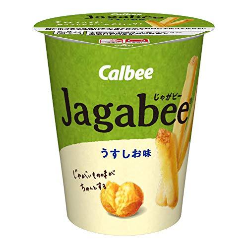 カルビー Jagabee うすしお味 40g ×12個
