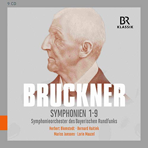 Anton Bruckner: Sinfonien 1-9 [CD-Box]