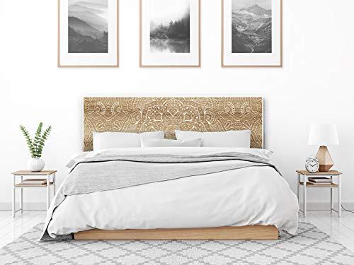 setecientosgramos Cabecero Cama PVC | Étnico | Varias Medidas | Fácil colocación | Decoración Dormitorio (200x60)
