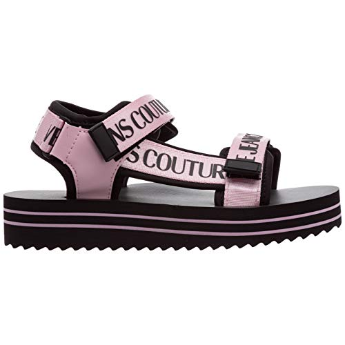 Versace Jeans Couture Mujer Strappy Sandalias Rosa 36 EU