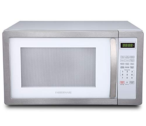 1100 watt white microwave - 3