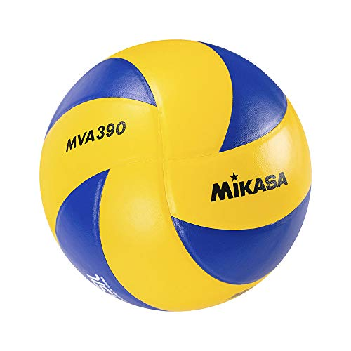 Mikasa Volleyball MVA 390 School Pro, Gelb/Blau, 5, 1120