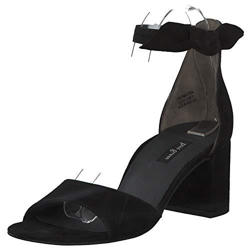 Paul Green Damen Sandalette Größe 36.5 EU Schwarz (schwarz)