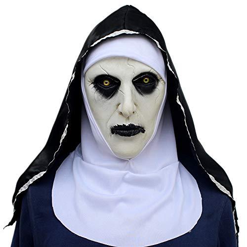 ZAMAC Terror Máscara de Halloween Látex Adulto Novedad