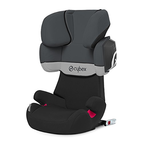 Cybex Solution X2-fix - Silla de coche, grupo 2/3 (15-36 kg), color Cobblestone