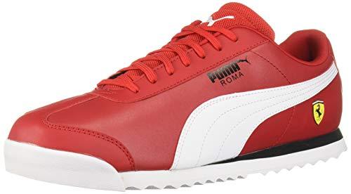 Puma Ferrari Roma - Zapatillas de Deporte para Hombre, Color Blanco y Negro, Talla 44, Color Rojo, Talla 38 EU
