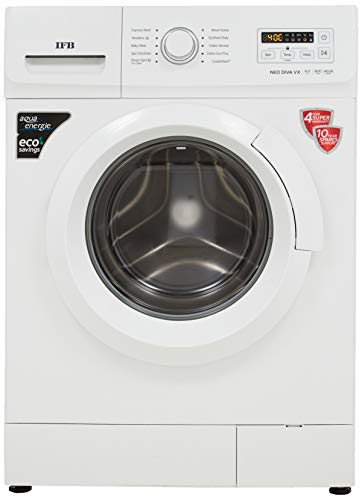 IFB 6 Kg 5 Star Fully-Automatic Front Loading Washing Machine (NEODIVA-VX, White, Inbuilt Heater)