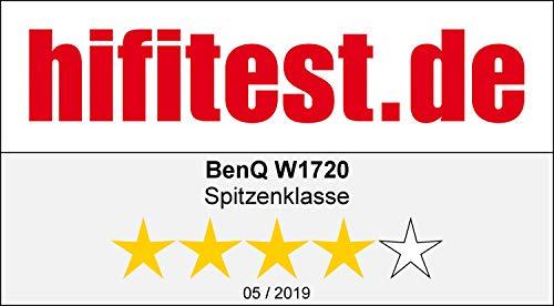 BenQ W1720 Heimkino DLP-Projektor (4K UHD, HLG + HDR10, Cinematic Color 100% Rec. 709, 2000 ANSI Lumen, 10.000:1 Kontrast, HDMI)