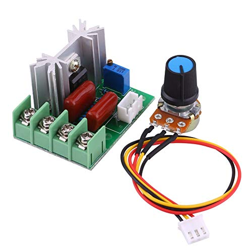 AC 50-220V 2000W SCR Elektrischer Spannungsregler Modul Baugruppe Ausgangsspannung Stabilisator Transformator Schalter Temperatur/Motor Drehzahlregler Licht Dimmer Product Name