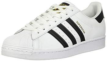 adidas mens Superstar Foundation Sneaker Ftwwht/Cblack/Ftwwht 10 US