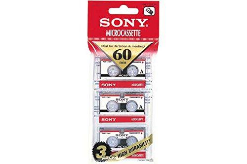 Sony Mikrokassetten (60min) 3er Pack
