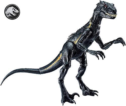 Mattel FVW27 - Jurassic World Indoraptor Dino Figur, beweglich, Spielzeug ab 3 Jahren