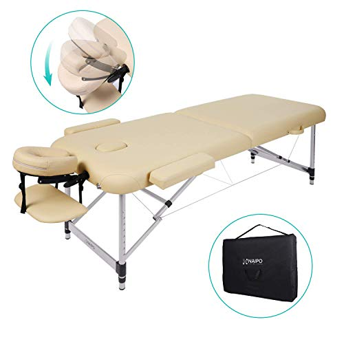 Table de Massage Aluminium Lit Cosmétique Kiné...