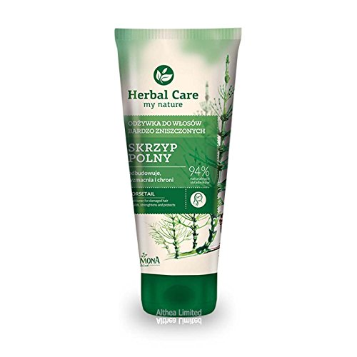 RADICAL - strengthening & regenerating NATURAL hair conditioner for damaged, dry, brittle and falling out hair. Intensive regeneration and strengthening. Only NATURAL ingredients:HORSETAIL extract, provitamin B5, SILK protein, INULIN from chicory/ 100ml. by Farmona