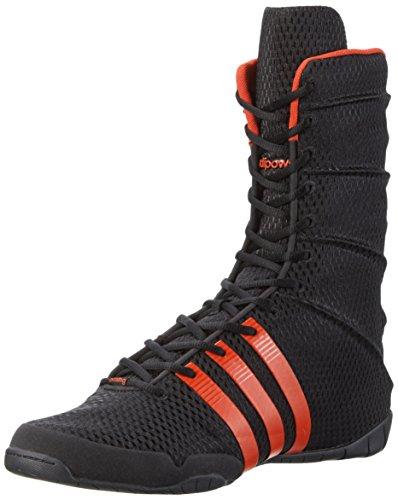 Adidas Boxschuh Adipower Boxing - Calzado de Boxeo para Hombre, Color Negro, Talla 4.5 ✅