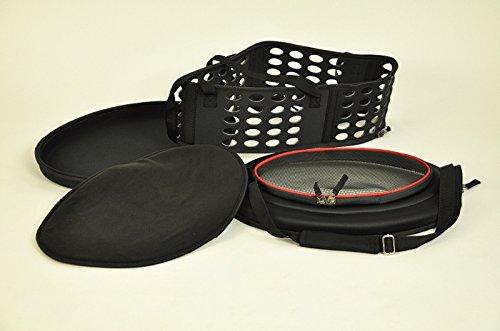 nanook faltbare Transporttasche / Transportbox für Katze, Kaninchen und kleine Hunde, 43 cm , schwarz - 4