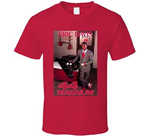 Retro Cincinnati Baseball Eric Davis 44 Magnum T Shirt XL Red