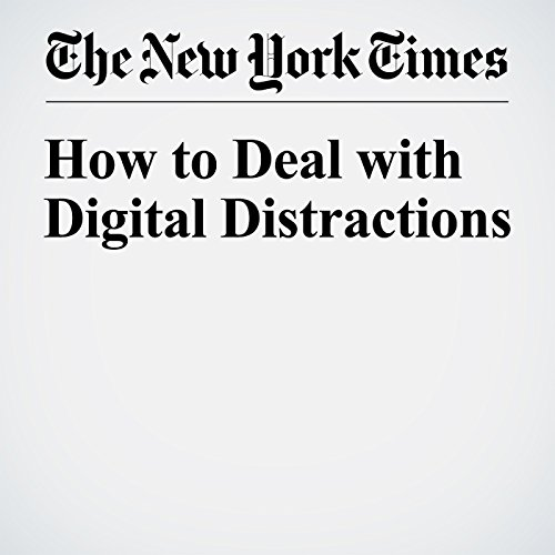 How to Deal with Digital Distractions audiobook cover art