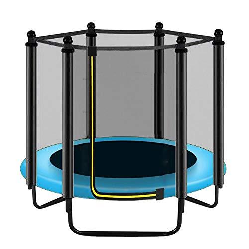 Red de seguridad de repuesto para trampolín-trampolín Accessoire red de seguridad – solo red (sin postes sin trampolín) para trampolines de 6 postes de 3.97 pies, Diámetro: 1,5 m.