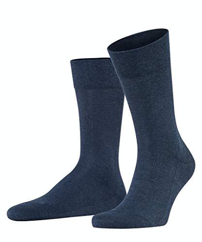 FALKE Herren Functional Socken London 2er Pack, Größe:43-46;Farbe:Navyblue Melange (6490)