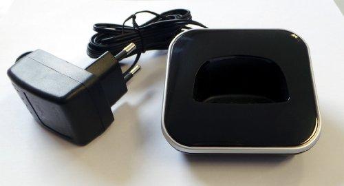 Ladeschale für T-Sinus 205 PACK schwarz zum Ersatz / Erweiterung / für Sinus 205 A205 PA205