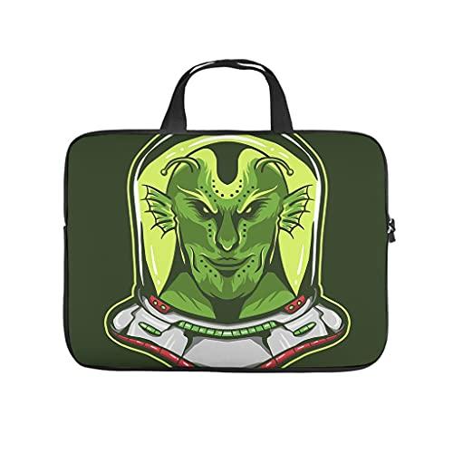 Magie Alien - Funda para portátil resistente a los arañazos, color verde