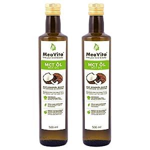 Aceite MeaVita MCT, paquete de 2 (2x 500 ml)