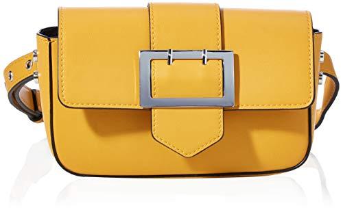 s.Oliver Damen Hip Bag mit Zierschließe yellow 1