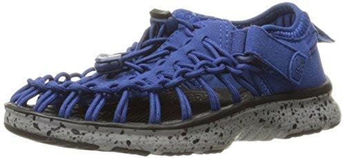 KEEN Unisex-Kinder Uneek O2 Outdoor Sandalen, Blau (True Blue/Neutral Grey), 30 EU