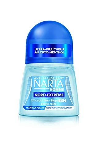 NARTA Herren Anti-Transpirant Nord Extrême Bille 50 ml – 4 Stück