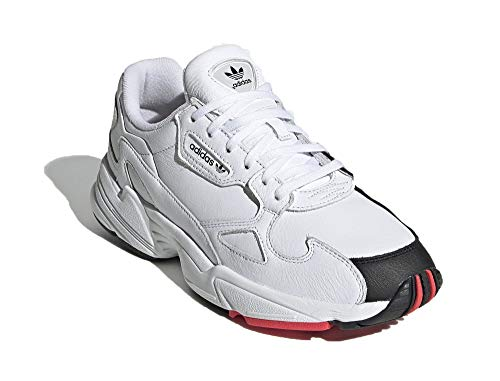 adidas Damen Falcon W Sneaker Weib, 39 1/3