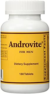 Optimox - Androvite for Men, Dietary Supplement, 180 tablets by OPTIMOX