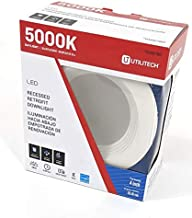 Utilitech 50-Watt Equivalent White Dimmable Recessed Downlight (4-in)