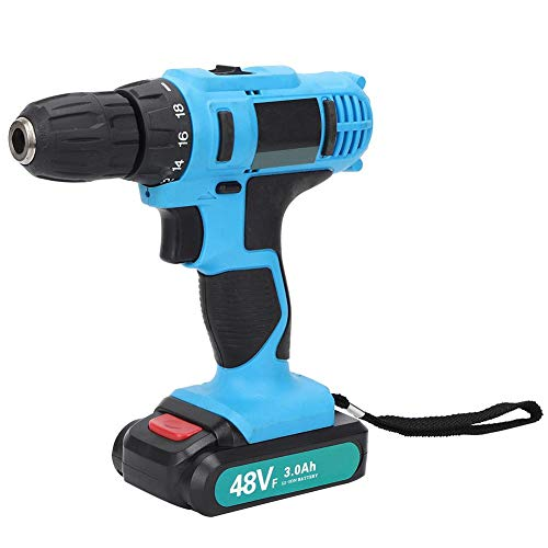 Electric Hand Drill, Labor-Saving Electric Drill, Impact Resistance Ergonomic Widely Used Plastic Furniture Disassembly for Electrical Disassembly