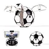 Metermall Drone à Induction gravitationnel de Photographie aérienne de WiFi de Taille Fixe de RC quadricoptère X43 big Football [Standard Haut] Pas de caméra