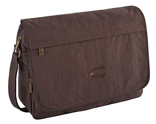 camel active Messenger Bag B00 Journey Umhängetasche, 39 cm, braun