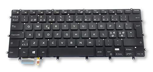 Dell XPS 9550 9560 und Precision 5510 5520 Nordic N-EEUR Tastatur mit Hintergrundbeleuchtung G20WG