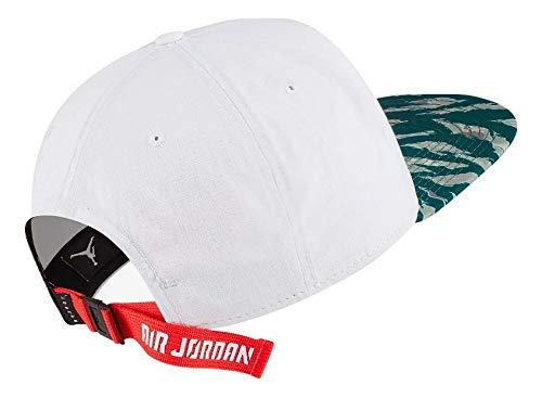 Nike Jordan Pro COF 2.0 Gorra, Unisex Adulto, White/Black/Infrared ...