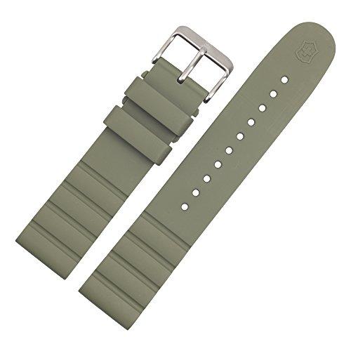 Victorinox Uhrenarmband 21mm Kunststoff Grün - Uhrband 005105