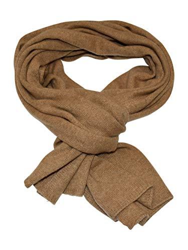 DALLE PIANE CASHMERE - Schal aus 100% Kaschmir - für Mann/Frau, Farbe: Kamel, Einheitsgröße
