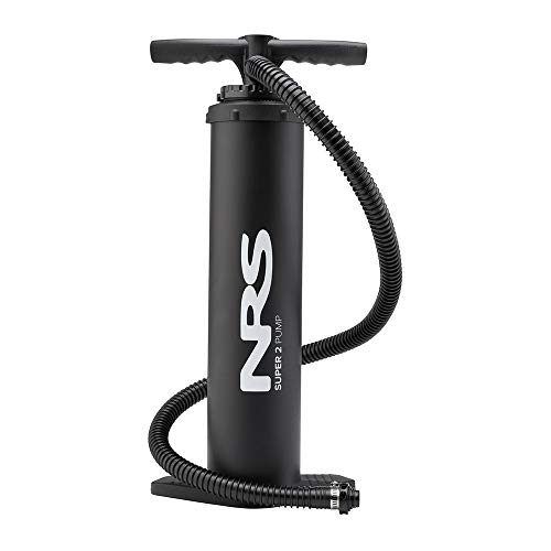 NRS 80057.01.100 Lightweight High Pressure Super 2 HP Hand Pump 25 PSI with Valve Adapters