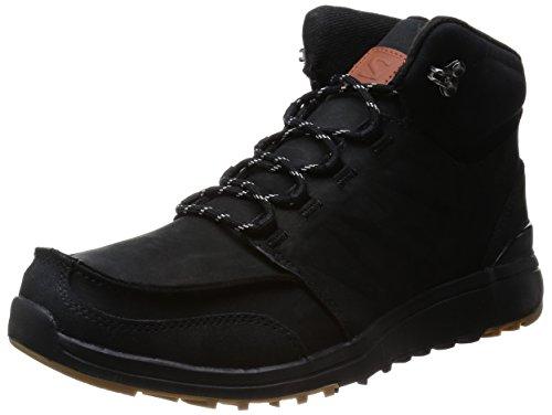 Salomon Herren Utility Trekking- & Wanderstiefel, Schwarz (Black/Black/Gum1A), 44 2/3 EU