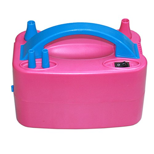 IWS Air Pump Electric Balloon Portable Inflator 110V Party Pink