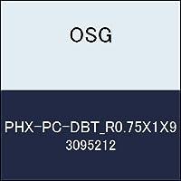 OSG 超硬ボール PHX-PC-DBT_R0.75X1X9 商品番号 3095212