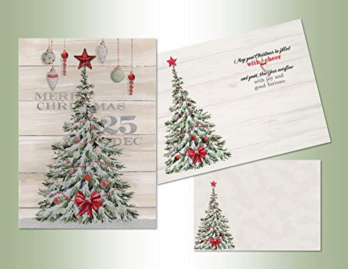 LPG PERFORMING ARTS BOXED CHRISTMAS CARDS Set of 12 hand embellished cards/12 full color coordinating envelopes., 65109