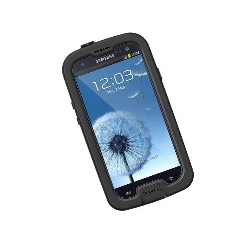 LifeProof FRĒ Samsung Galaxy S3 Waterproof Case - Retail Packaging - BLACK/CLEAR